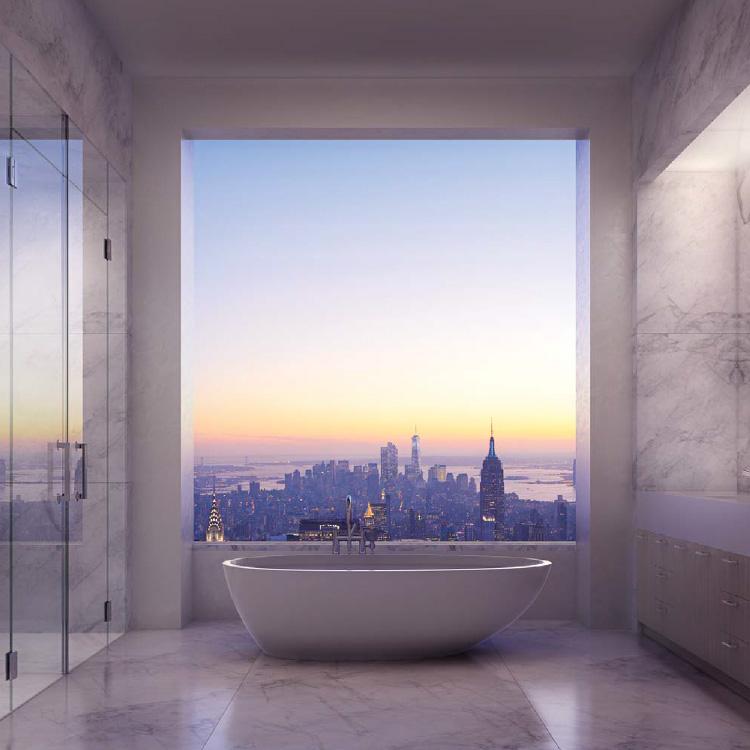 Penthouse koupelna