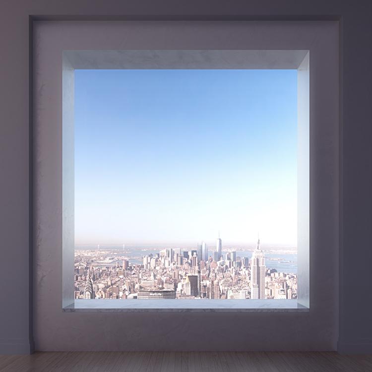 Penthouse okna
