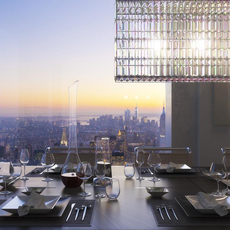 Penthouse výhled