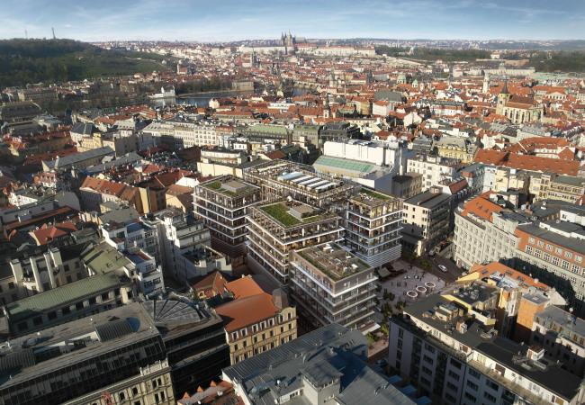 A pohled na Prahu