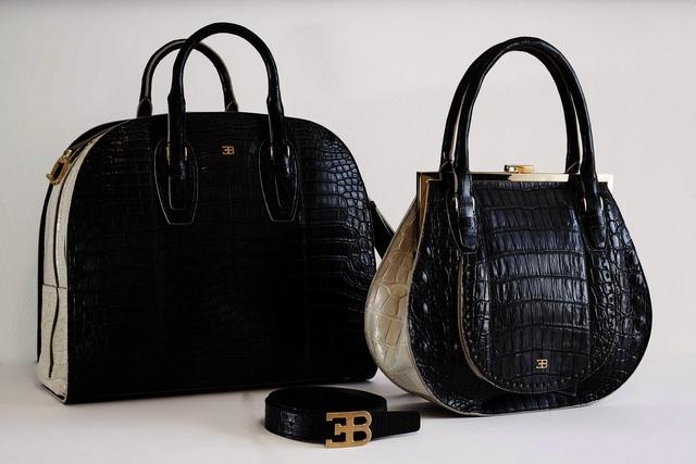 BUGATTI_Tailor Made_Crocodile Dual tone skin bags