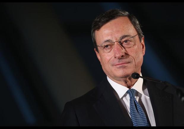 8. Mario Draghi, šéf Evropské centrální banky