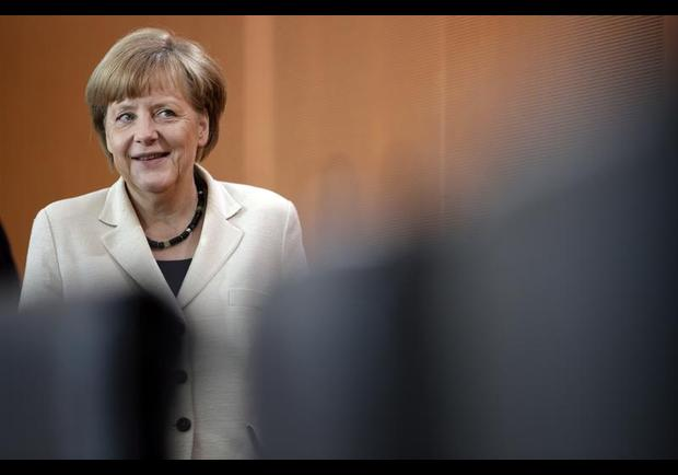 5. Angela Merkelová, německá kancléřka