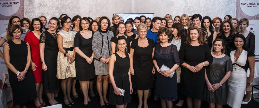 Nejvlivnější ženy Česka 2014