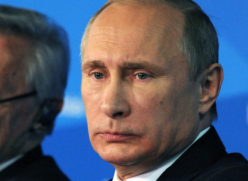 1. Vladimir Putin, ruský prezident