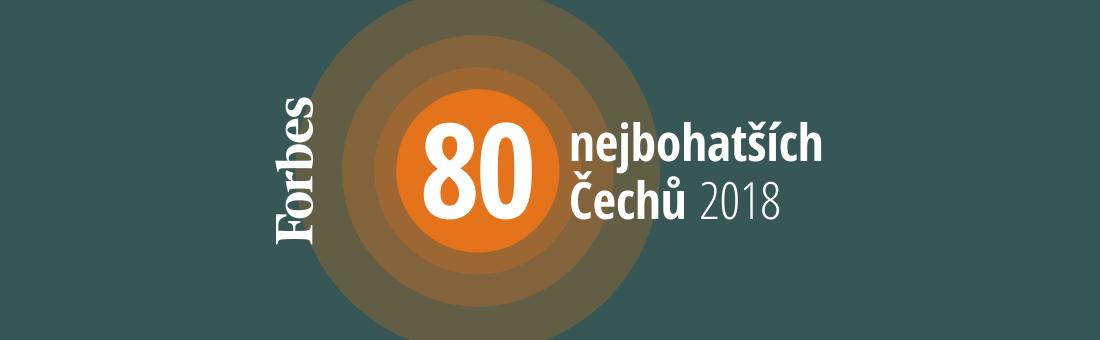 80 nejbohatších Čechů 2018