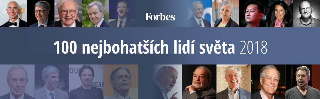 Nejbohatší lidé světa 2018