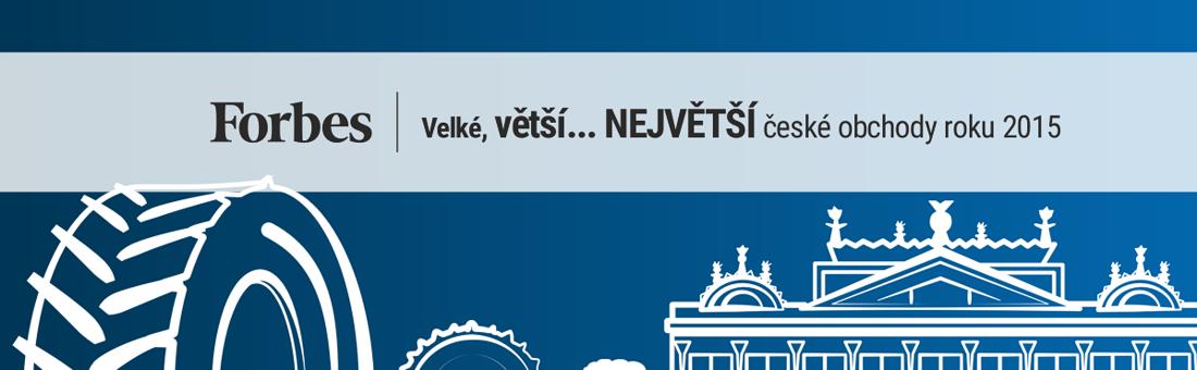 Největší české obchody roku 2015