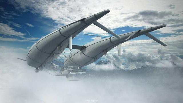 The Wolke 7 - Létat a žít ve vzduchu vám umožní tento létající dům, který je nápadem Timona Sagera ze Švýcarska.