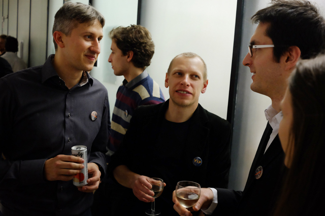 Investiční bankéř Miroslav Janov, redaktor Jiří Nádoba a vědec Jiří Václavík