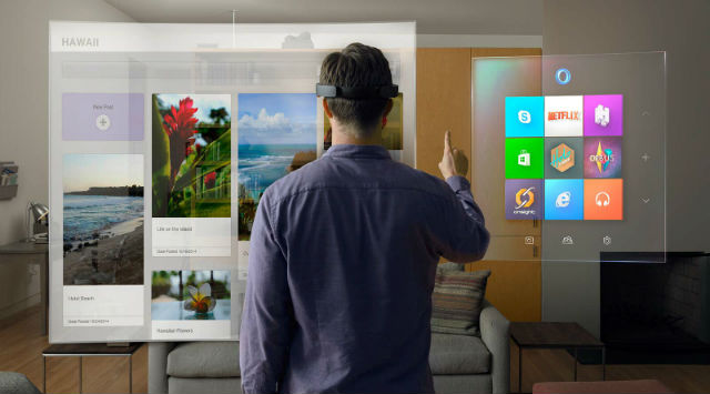 windows holographic done