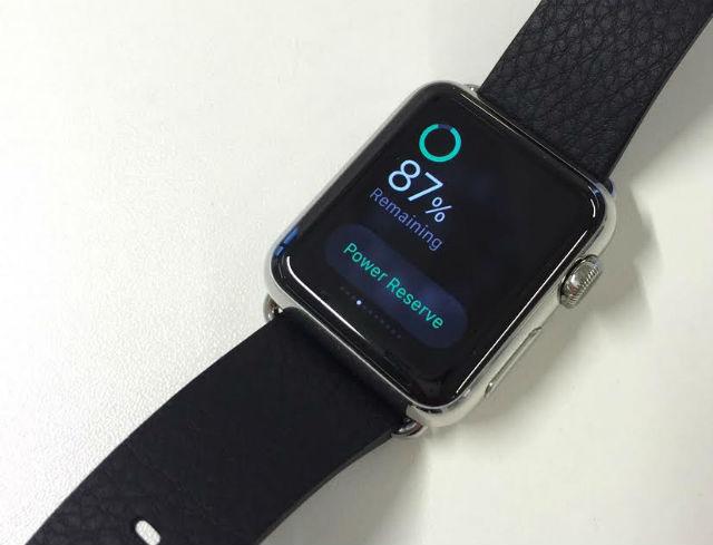 apple watch baterka done
