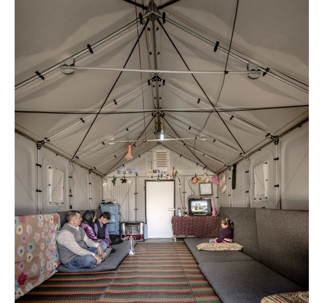 ikea shelter uvnitř