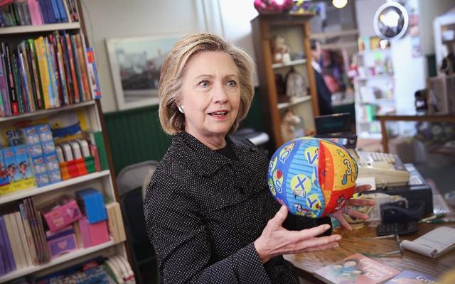 2. Hillary Clinton, kandidátka na prezidentku, USA, 67 let, vdaná, 1 dítě