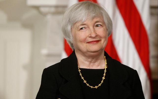 4. Janet Yellen, předsedkyně FED, USA, 68 let, vdaná, 1 dítě