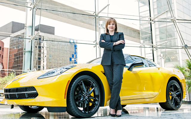 5. Mary Barra, CEO General Motors, USA, 53 let, vdaná, 2 děti