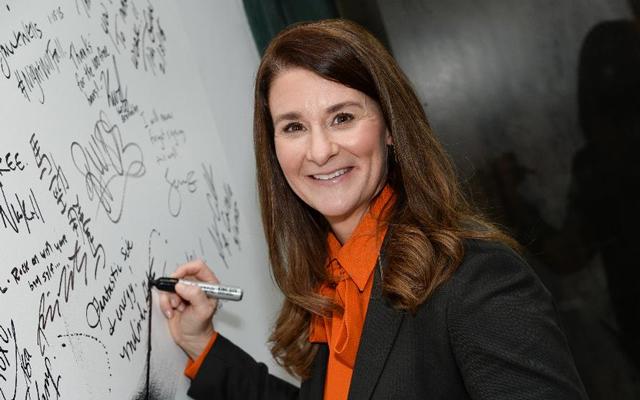 3. Melinda Gates, filantropka, manželka Billa Gatese, USA, 50 let, vdaná, 3 děti