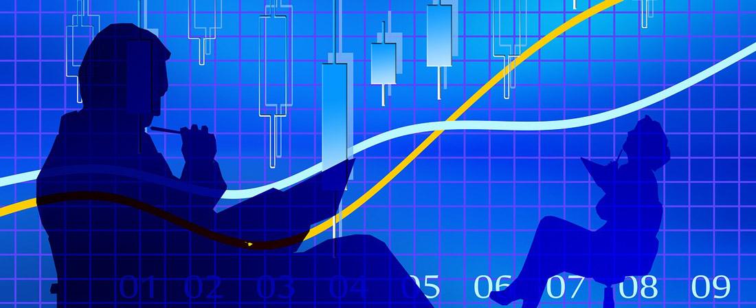 statistika graf byznys ekonomika trhy
