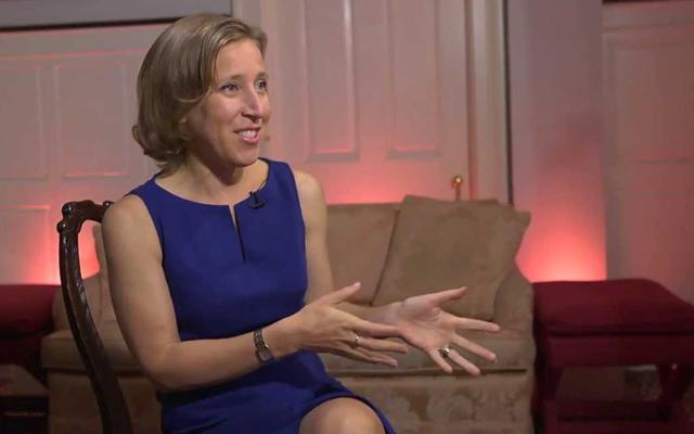 9. Susan Wojcicki, 300 milionů $, CEO YouTube, Google, 46 let, vdaná, 4 děti