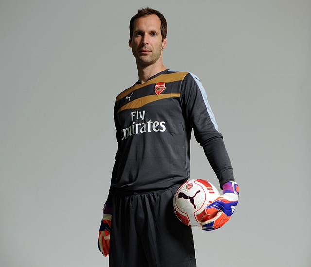 Arsenal Unveil New Signing Petr Cech