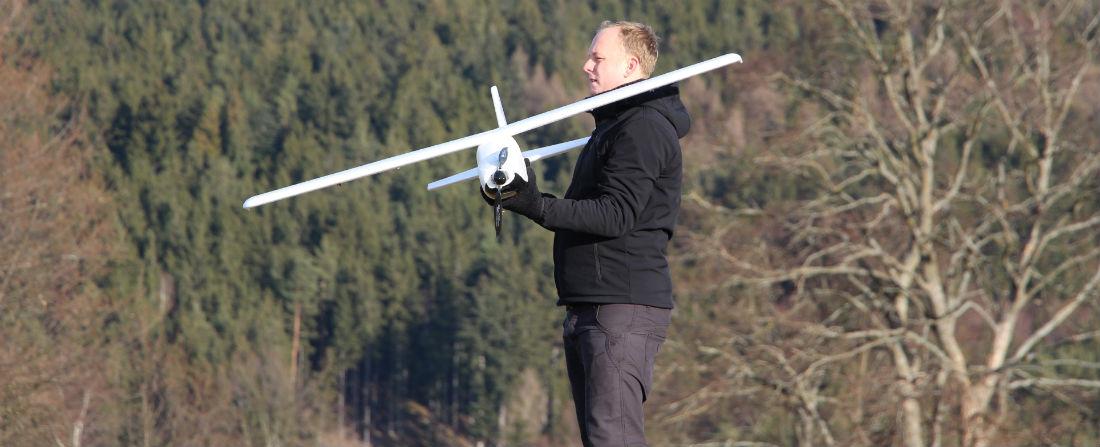 drony foto mapovací letadlo