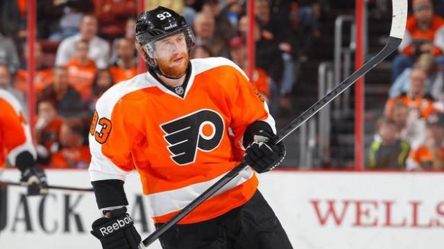 9. Jakub Voráček. Hokej, Philadelphia Flyers. 112 milionů korun