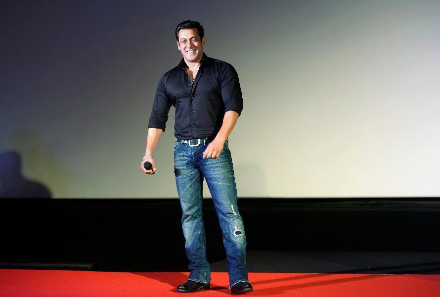 7.-8. Salman Khan, 33,5 milionu dolarů