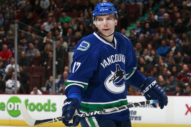 8. Radim Vrbata. Hokej, Vancouver Canucks. 122,5 milionu korun