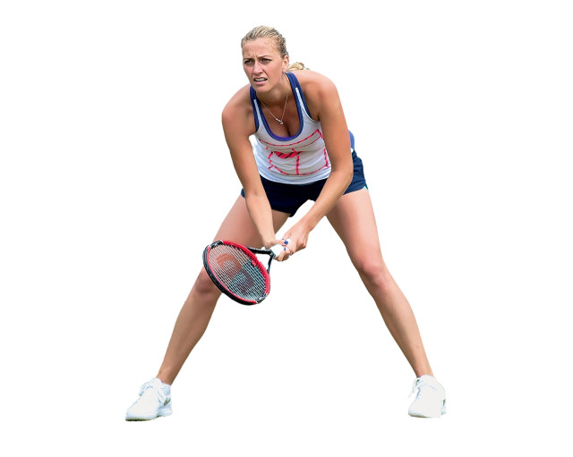 2. Petra Kvitová. Tenis. 178 milionů korun (prize money: 138 mil. + sponzoři: 40 mil.)