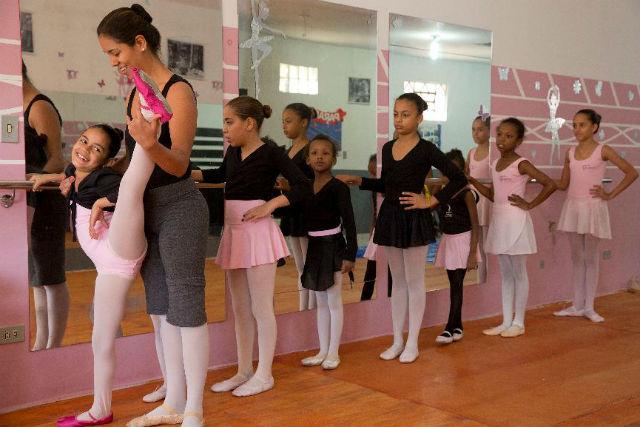Instruktorka tance