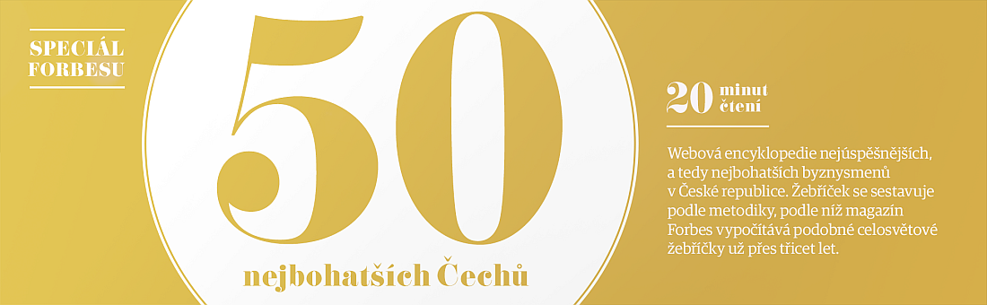 Nejbohatší Češi 2015