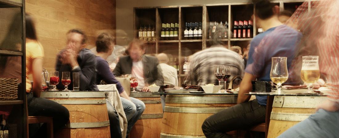víno vinárna