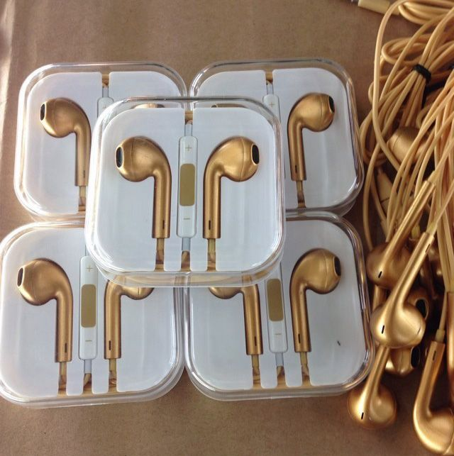 siearpodsgld._limited-edition-gold-smartphone-stereo-headset-earpods-with-mic