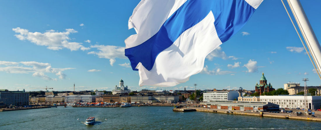 Finland-Flag finsko