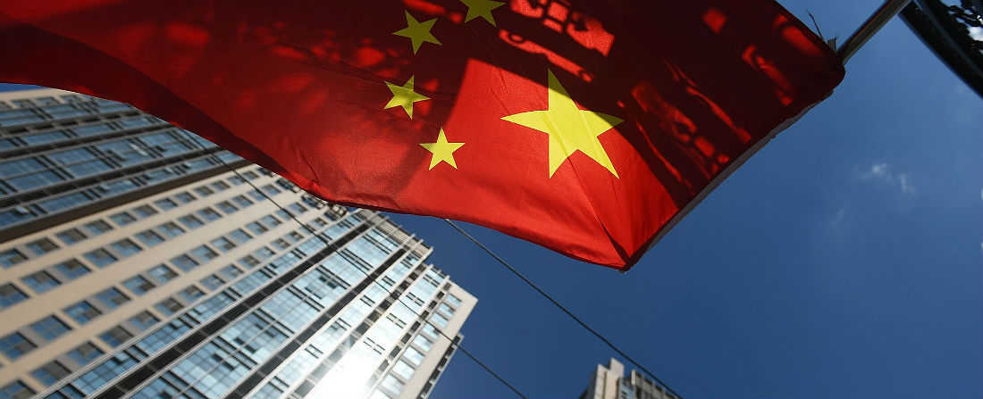 čína vlajka done