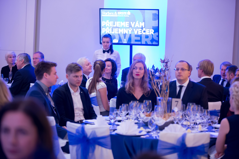 Andrea Kotašková ze společnosti Premier Wines & Spirits, jednoho z partnerů večera