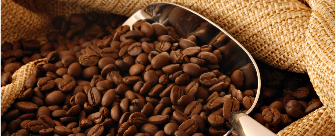 pražená káva