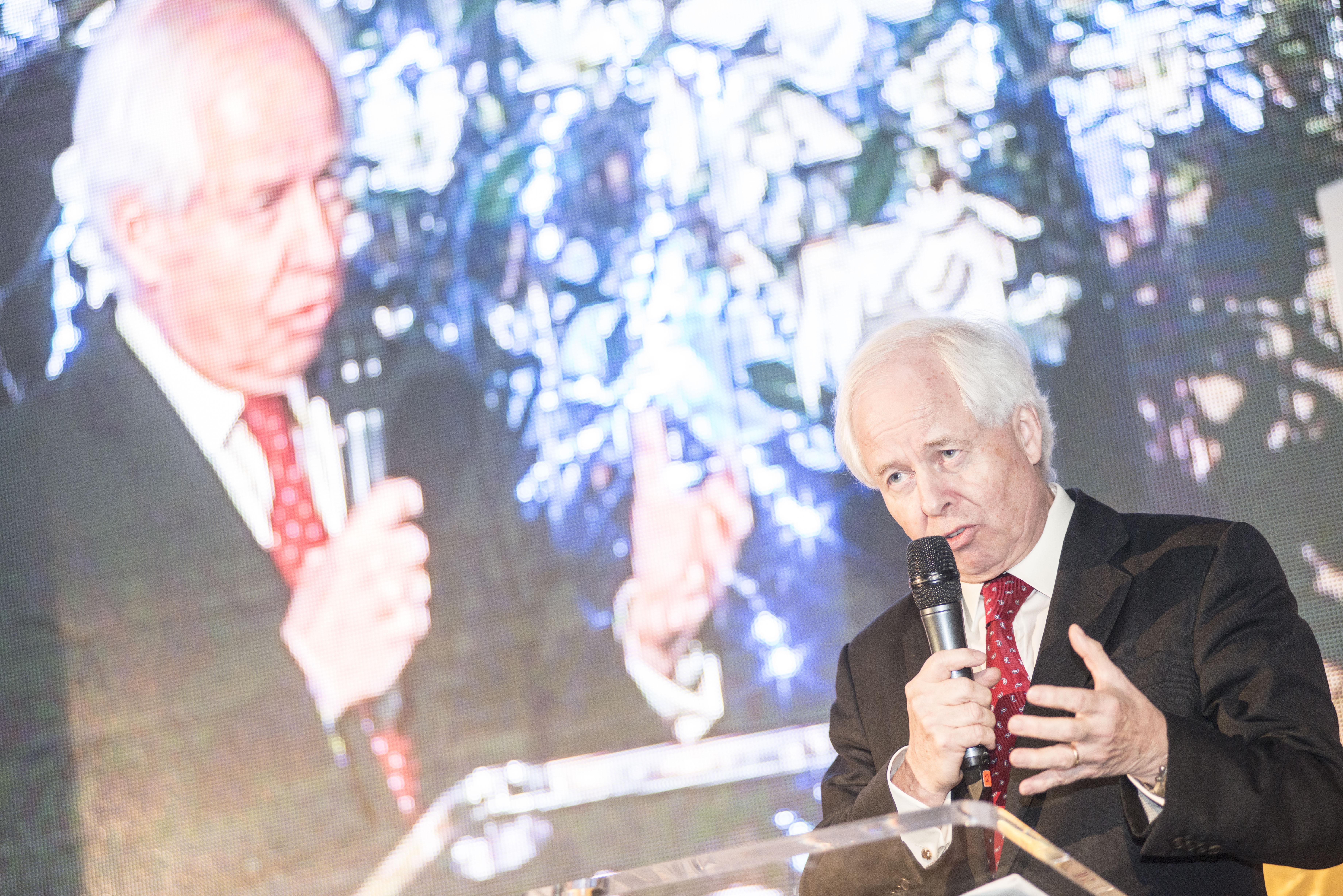 Jeho jasnost princ Philipp von und zu Liechtenstein, předseda správní rady LGT Bank.
