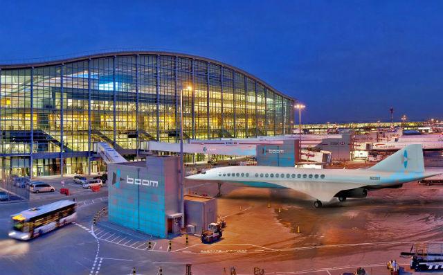Boom at Heathrow
