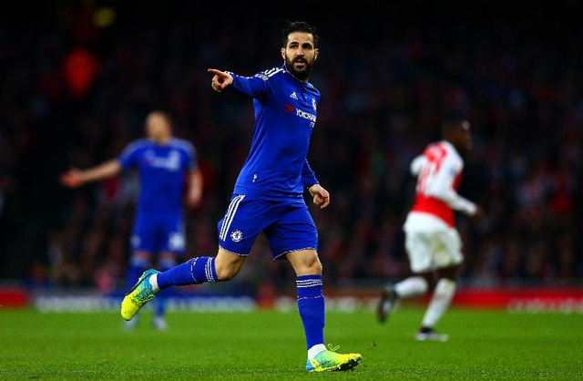 10. Cesc Fàbregas, Chelsea | Španěl | výdělek: 21 mil. USD