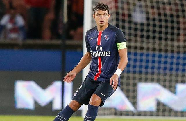 14. Thiago Silva, Paris Saint-Germain | Brazilec | výdělek: 18 mil. USD