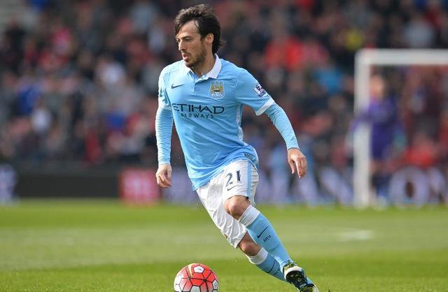 19. David Silva, Manchester City | Španěl | výdělek: 17 mil. USD
