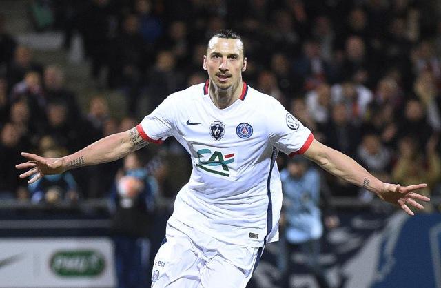 3. Zlatan Ibrahimović, Paris Saint-Germain | Švéd | výdělek: 37 mil. USD