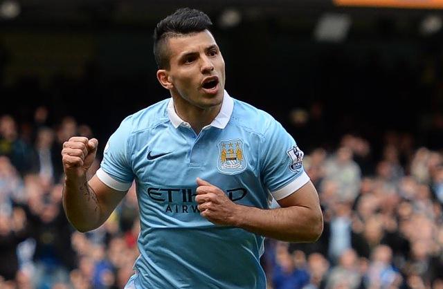 7. Sergio Agüero, Manchester City | Argentinec | výdělek: 24 mil. USD