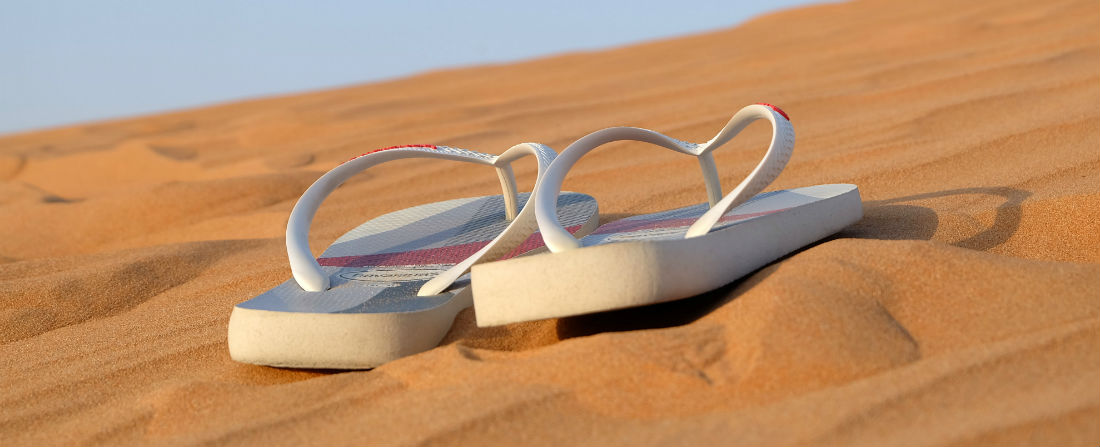 boty plaz cestovani