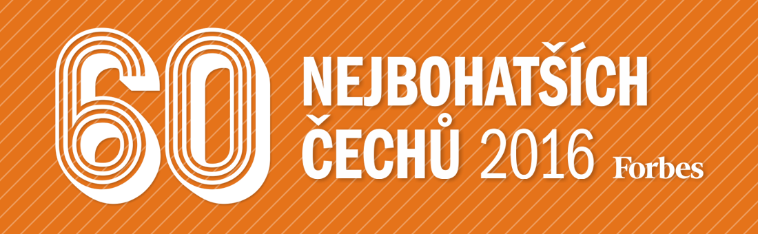 60 nejbohatších Čechů 2016
