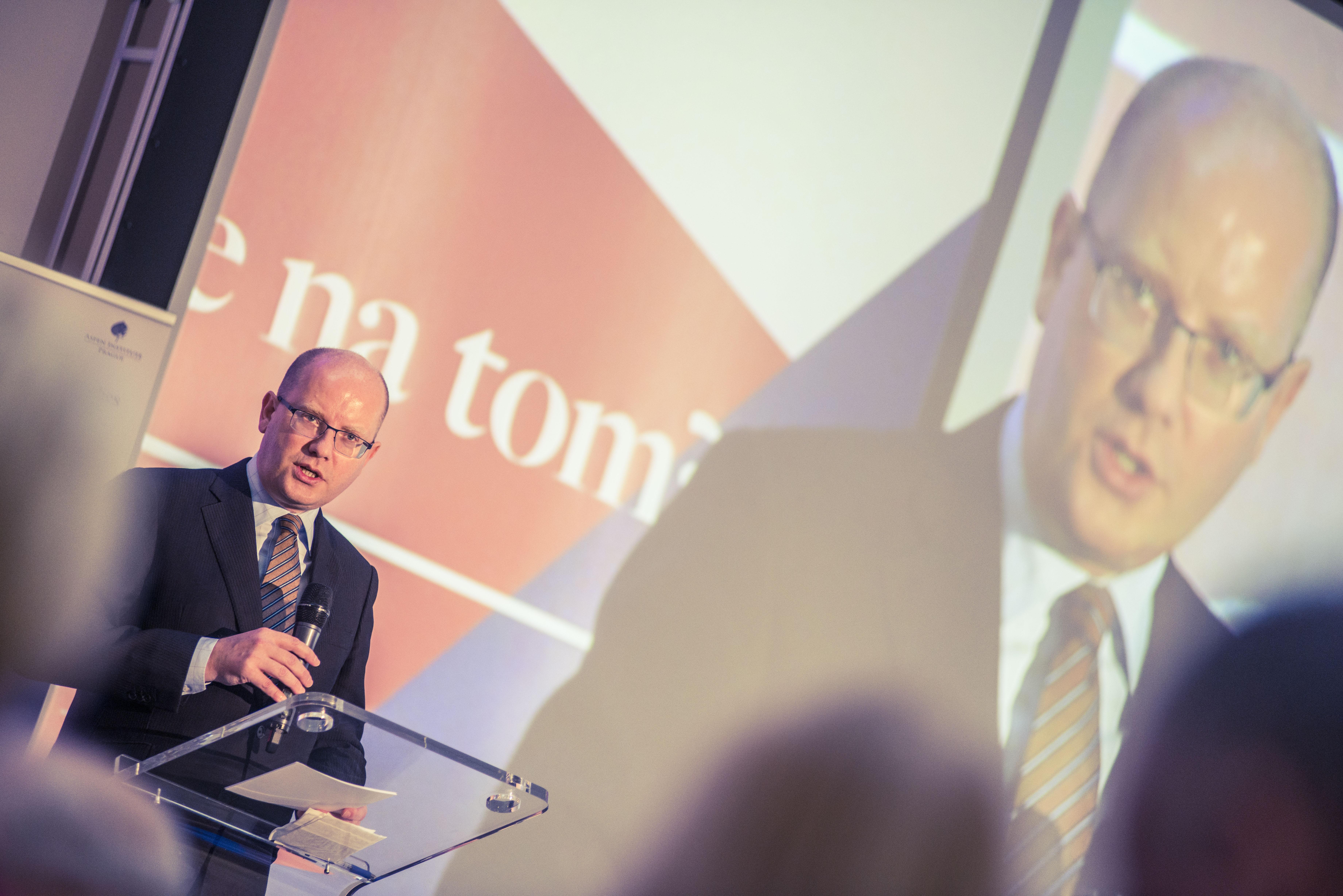 Keynote speech Bohuslava Sobotky, předsedy vlády ČR.