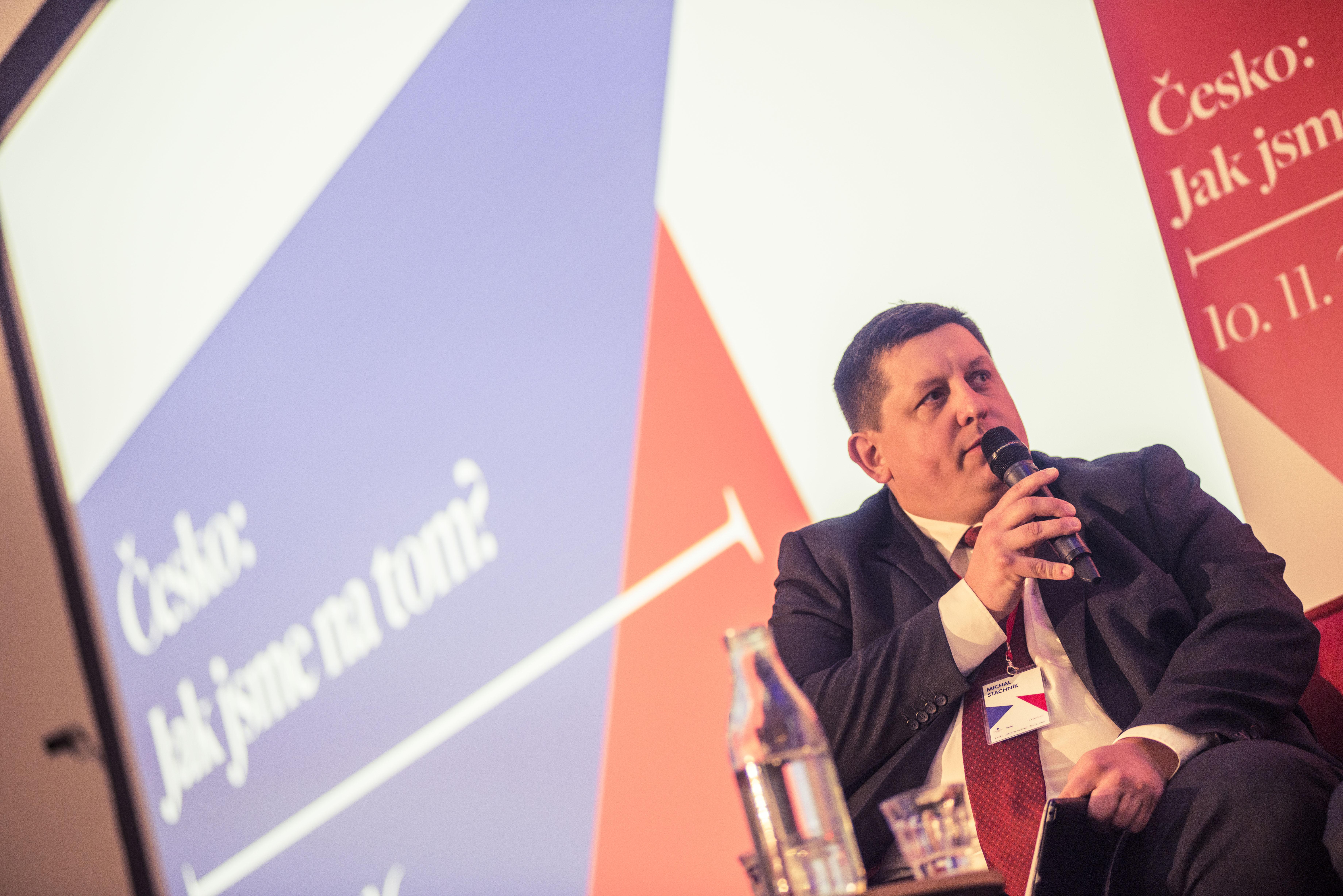 Michal Stachník, generální ředitel společnosti Cisco.