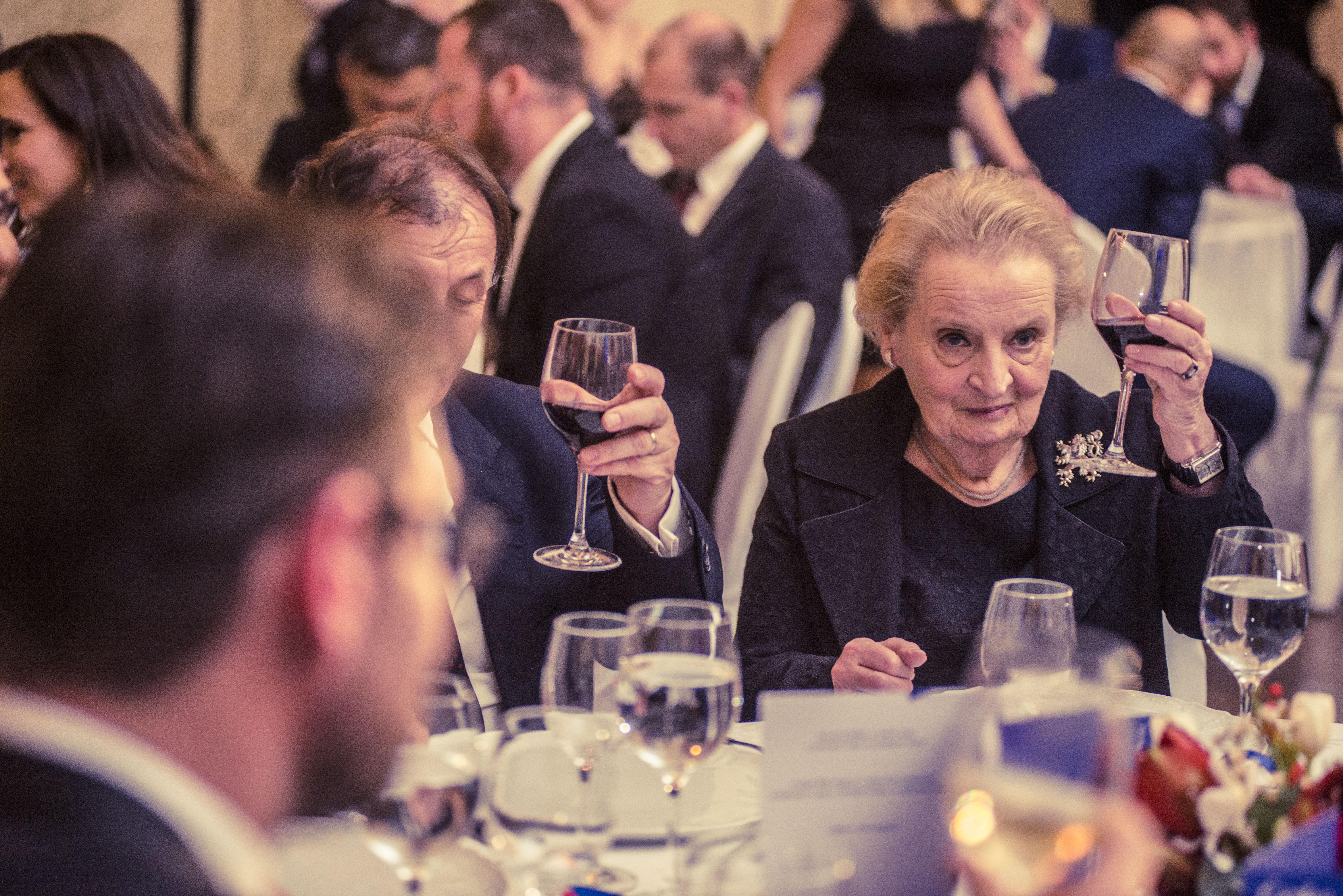 Madeleine K. Albright.