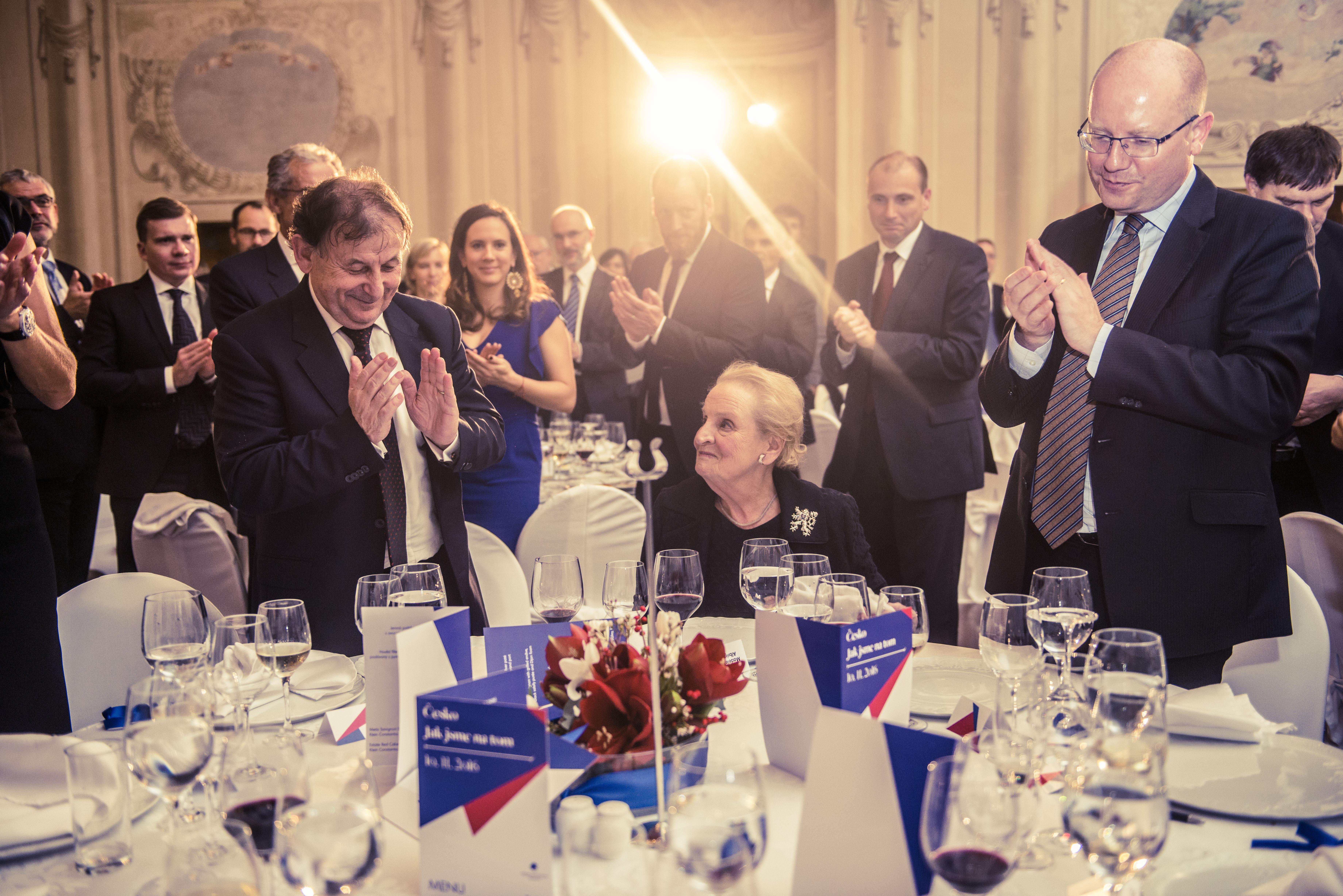 Madeleine K. Albright, bývalá ministryně zahraničí USA.